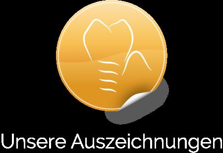 Goldene Auszeichnung Zahnarzt