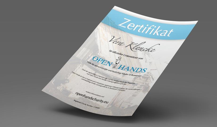 zertifikat-open-hands-vera-klencke