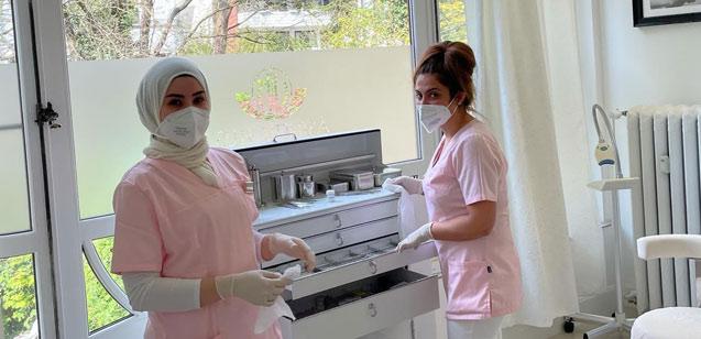 Corona Maßnahmen in der Zahnarztpraxis Bremen